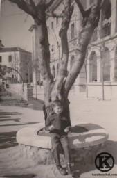 8. Carlos Barciela en el colegio Santo Angel (años 50)