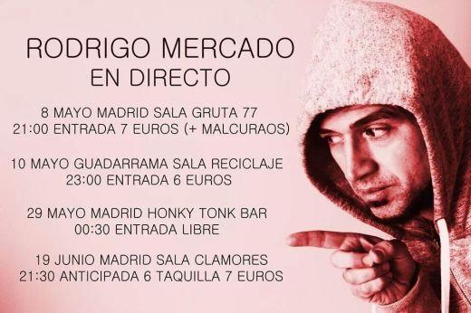 Rodrigo Mercado en el Gruta 77