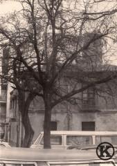Avda de Carabanchel Alto esquina callejón de la Rosa (años 70)