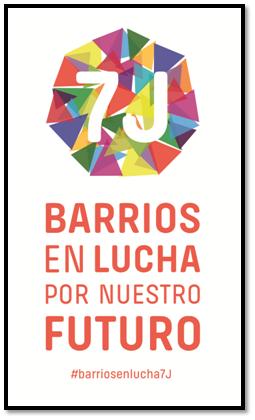 Barrios en lucha por nuestro futuro 7J