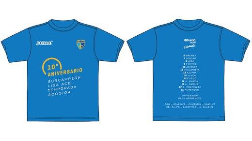 camiseta estudiantes 10º aniversario