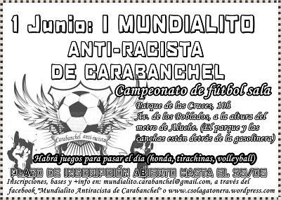 I Mundialito antiracista Carabanchel