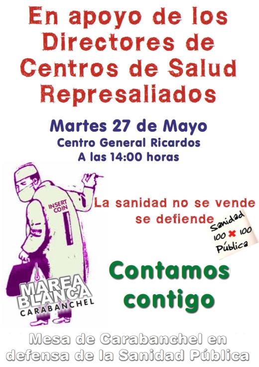 Movilización sanidad 27 de mayo