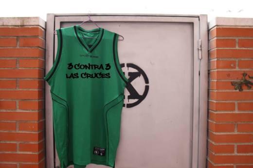 Camiseta 3 contr 3 Las Cruces