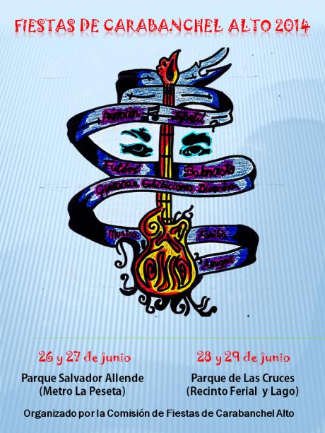 Fiestas de carabanchel alto 2014