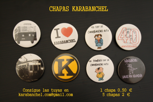 Anuncio Chapas Karabanchel