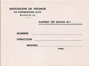 Carnet de la AA VV