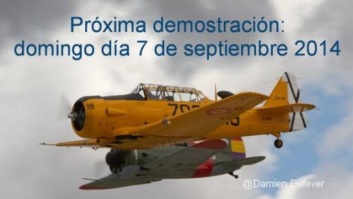 demostracion aviones cuatro vientos 7 de septiembre