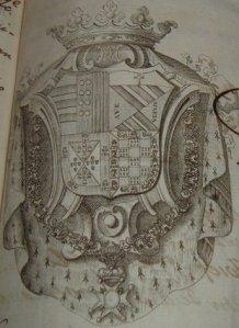 Escudo del Marqués de Belgida