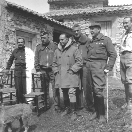 General Varela y su Estado Mayor