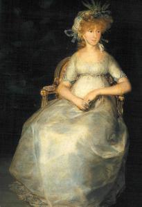 La Condesa de Chinchón, retrato de Goya