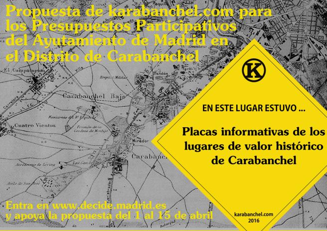 Propuesta de karabanchel.com Presupuestos Participativos Ayuntamiento de Madrid