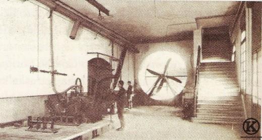 Túnel aerodinámico del Aeródromo de Cuatro Vientos (1925)