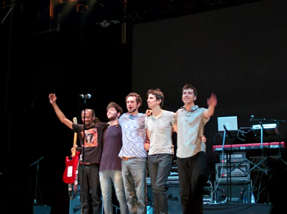 Fotos del concierto de Rosendo y Rodrigo Mercado en Las Ventas (5/6)