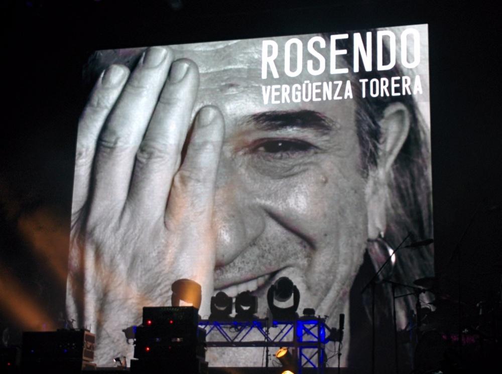 Fotos del concierto de Rosendo y Rodrigo Mercado en Las Ventas (6/6)