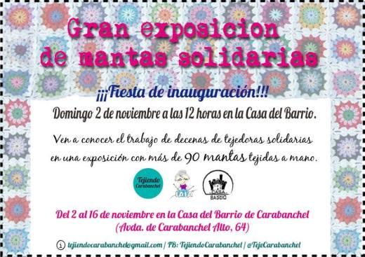 Exposición Tejiendo Carabanchel Casa del Barrio