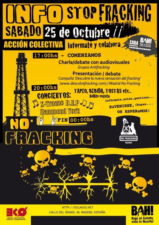 fracking eko 25 de octubre