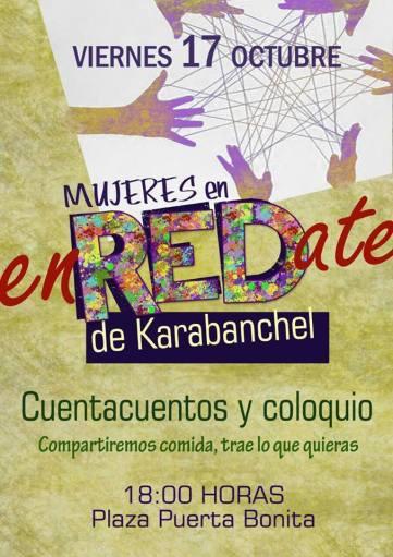 Mujeres Enredate en Karabanchel 17octubre