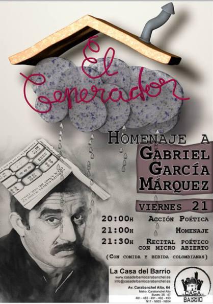 Casa del Barrio Carabanchel Homenaje a Gabriel García Márquez