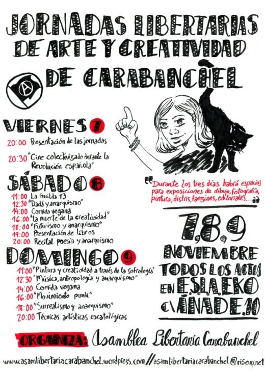 Jornadas libertarias arte y creatividad EKO Carabanchel