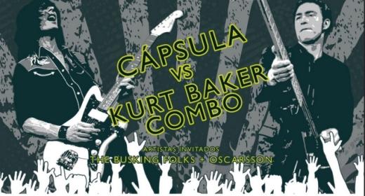 Cápsula VS Kurt Baker Combo en el Gruta 77
