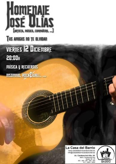 Homenaje a Jose Olias