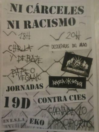 Jornada contra los CIES 19 de diciembre