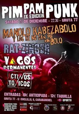 Manolo Kabezabolo Gruta 77 pimpanpunk