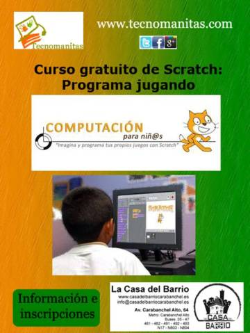 ProgramarPorOrdenador Scratch Casa del Barrio
