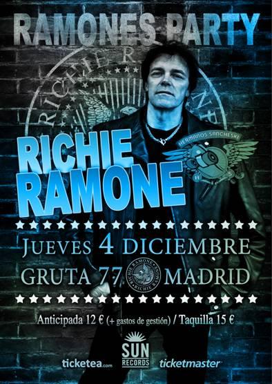 Richie Ramone Gruta 77