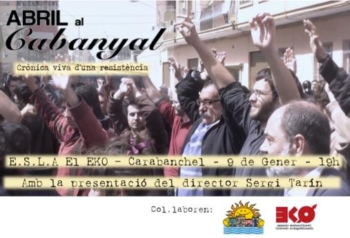Abril en Cabanyal en el EKo 9 de enero