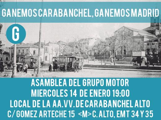 asamblea-del-grupo-motor Ganemos Carabanchel-14-enero