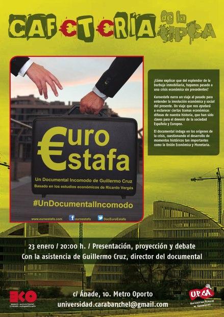 Proyeccion Euroestafa EKo 23 de enero
