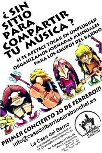 Concierto unplugged Casa del Barrio 20 f