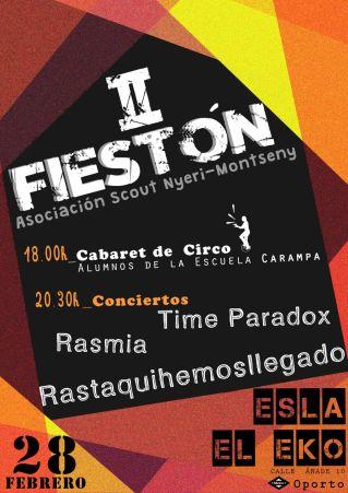fiesta-scout Nyeri ESO 28 de febrero
