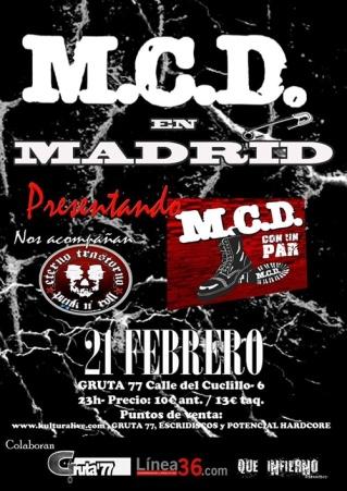 MCD Gruta 77 21 de febrero