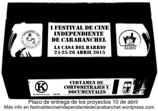 Cartel Festival de Cine de Carabanchel