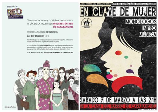 Día de la mujer en La Casa del Barrio 7 de marzo