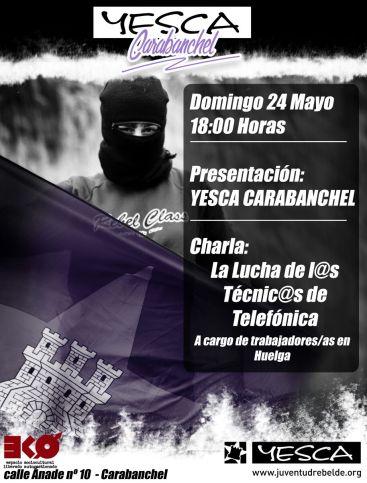 Presentación YESCA Carabanchel EKO 24 mayo