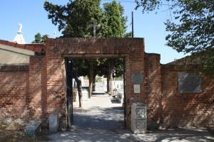Entrada cementerio de Carabanchel Bajo o de San Sebastián