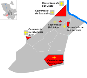 Localización_cementerios_de_Carabanchel