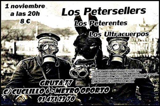 Fiesta Jalogüin con Los Petersellers Gruta 77