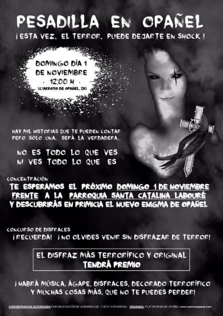 Pesadilla en Opañel el 1 de noviembre