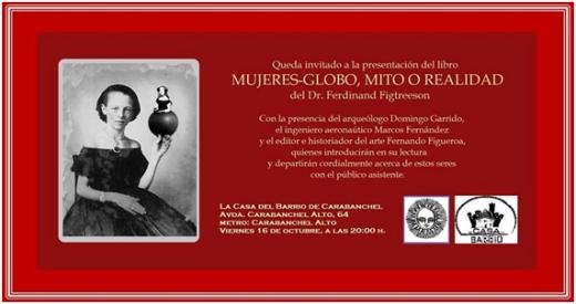 Presentación del libro Mujeres-Globo, mito o realidad hoy en la Casa del Barrio