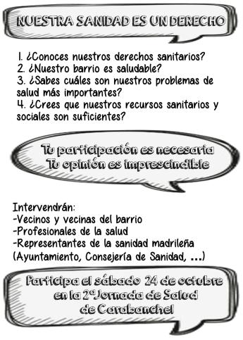 Programa 2 Jornada Salud
