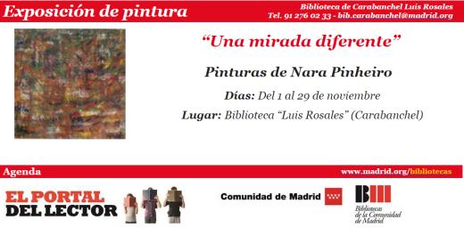 Exposición de pintura Una mirada diferente en la biblioteca Luis Rosales