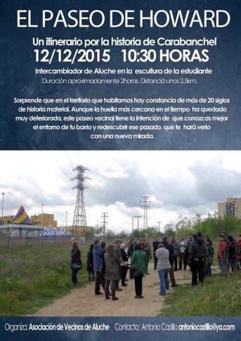 Paseo histórico por Carabanchel el 12 de diciembre