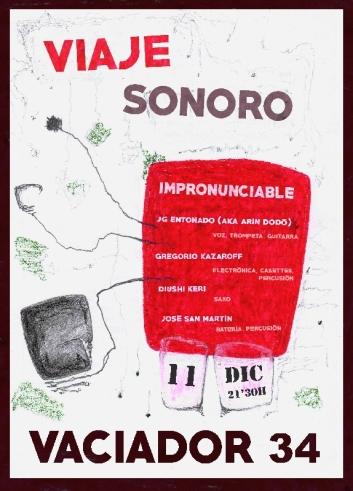 Viaje Sonoro en el Vaciador 34