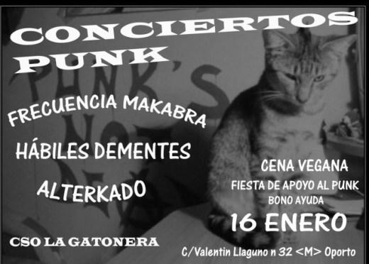 cso_la_gatonera_16_enero Conciertos punk