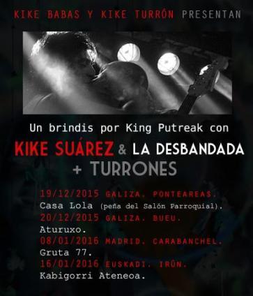 Kike Suarez y Los Turrones en Gruta 77